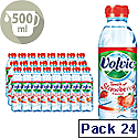 Volvic Touch Of Fruit Strawberry Water Bottle 500ml Pack 24