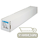HP C6036A Bright White Inkjet Plotter Paper 914mm x45m 90gsm