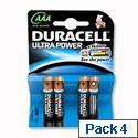 Duracell Ultra 1.5V AAA M3 MN2400 Alkaline Battery 7035070 Pk 4