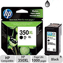 HP 350XL High Yield Black Ink Cartridge 85g CB336EE