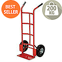 Hand Trolley Heavy-Duty Capacity 200kg Red RelX