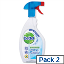 Dettol Antibacterial Surface Cleanser Disinfecting Trigger Spray 500ml Y04416 Pack 2