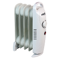 500W 6inch Baby Oil-Filled Radiator White CRHOF320/H