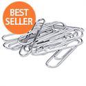 Metal Paper Clips Large 33mm Pack 100 5 Star