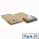 Pro B02 Postal Pack Peel and Seal Internal W300xD220xH80max.mm 145624114 Pack 25