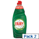 Fairy Washing Up Liquid Original 750ml Y03580 Pack 2