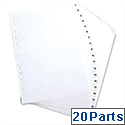 Elba Polypropylene Index Europunched A4 1-20 Subject Dividers White 100204786