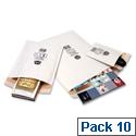 Jiffy No 0 Mailmiser Envelopes White 140 x 195mm (Pack of 10)