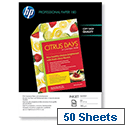 HP C6818A Inkjet Paper Double-sided Glossy A4 180gsm 50 Sheets