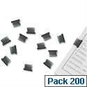 Rapesco Supaclip ''40'' Refill Clips Plain Steel (Pack of 200)