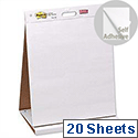 Post-it Table Top Meeting Chart 20 Self-adhesive Sheets