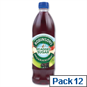 Robinsons Special R Squash No Added Sugar 1 Litre Apple and Blackcurrant A02045 Pack 12