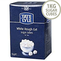 Tate & Lyle Rough Cut White Sugar Cubes 1kg A03902