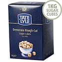 Tate and Lyle Demerara Sugar Cubes Rough-cut 1Kg Ref A03903 539753