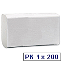 Paper Hand Towels Centrefold 2 Ply 230x310mm White [Pack 200]