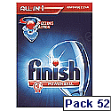 Finish Dishwasher Powerball Tablets All In 1 Ref N07554 Pack 52 Tablets