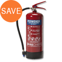 IVG Fire Chief Dry Powder 6kg Refillable Fire Extinguisher for Class ABC Guardian