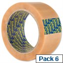 Sellotape Case Sealing Tape Vinyl 50mm x 66m Clear Ref 8517 Pack 6 568838