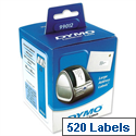 Dymo 99012 Labelwriter Labels Large Address Labels 36 x 89mm Pack 2 x 260