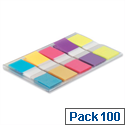 Post it Index Tabs Bright Colours 683-5Cb Pack 100