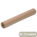 Pro Brown Wrapping Paper Roll 70gsm 500mmx25m