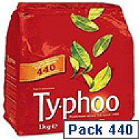Typhoo Tea Bags Vacuum packed One Cup Pack 440