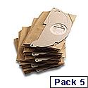 Karcher Vacuum Paper Filter Bag for MV2 / WD2 69043220