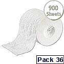 Tork White 2 Ply Coreless Dispenser Toilet Roll Pack of 36 472199