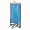Versapak Sackholder Trolley Single for Mail W400xD400xH1115mm Silver Ref SH1-C 706307
