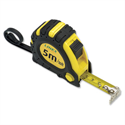 Linex Measuring Tape with Hook and Non-slip Surface Metric and Imperial with Belt Clip 5m