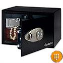 Sentry Black Entry-Level Electronic Lock Safe