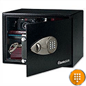 Sentry Black Laptop Size Electronic Lock Safe