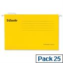 Esselte Pendaflex Economy Suspension File Foolscap Yellow Pk 25