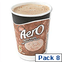 Nescafe & Go Aero Hot Chocolate Foil-sealed Cup for Drinks Machine Pack 8