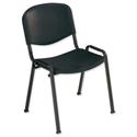 Black Stacking Chair Polypropene Trexus
