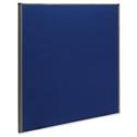 Trexus Plus Flat Top Screen Floor-standing W1800xD52xH1500mm Royal Blue 754901