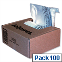 Fellowes Recyclable Shredder Bags 23-28 Litre Pack 100