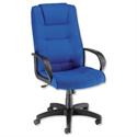 Trexus Intro Executive Office Armchair High Back Royal Blue