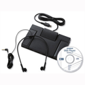 Olympus AS-2400 Professional Transcription Kit Footswitch Headset DSS Software