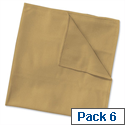 Wypall Microfibre Cleaning Cloths for Dry or Damp Multisurface Use Yellow Ref 8394 Pack 6 840899