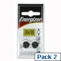 LR54 1.5V Alkaline Battery Pack 2 Energizer
