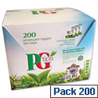 PG Tips Tea Bags Envelopes Pack 200