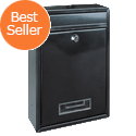 Rottner Tarvis Steel Mail/Suggestion Box 175x30mm Opening W215xD90xH320mm Anthracite Ref T02942