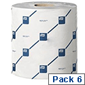 Tork Reflex Wiper Roll 150m Blue Cleaning Roll 2 Ply 429 Sheets 200 x 350mm Pack 6