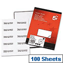 10 Labels per Sheet Copier 105 x 58mm 1000 Labels 5 Star