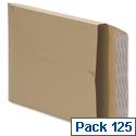 gusset envelopes pack 125