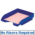 Stackable Letter Tray Blue 5 Star