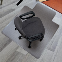 Chair Mat HARD FLOOR Protection PVC 914x1219mm 5 Star