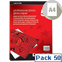 5 Star A4 Glossy Photo Inkjet Paper 265gsm (Pack of 50)