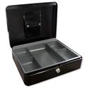 5 Star Cash Box 8 Inch W150xD200xH78mm Anthracite Black